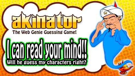 Let's Play Akinator 아키네이터 - The Web Genie Guessing Game