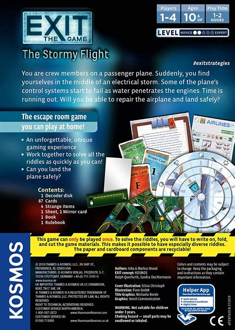 Exit: Stormy Flight - A2Z Science & Learning Store
