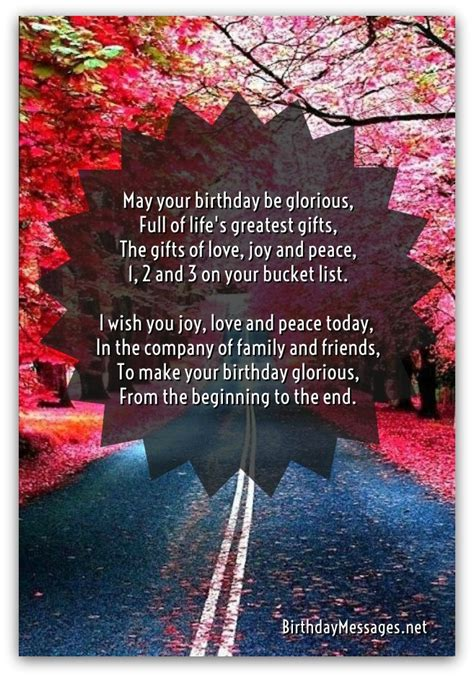 Happy Birthday Poems - Page 3