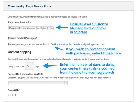 How to drip content / delay content in OptimizePress