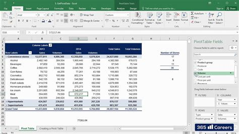 How to use GETPIVOTDATA in Excel 2016: Pivot Tables Excel