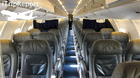 Cal Jet by Elite Airways First Class Review CRJ-700 - YouTube
