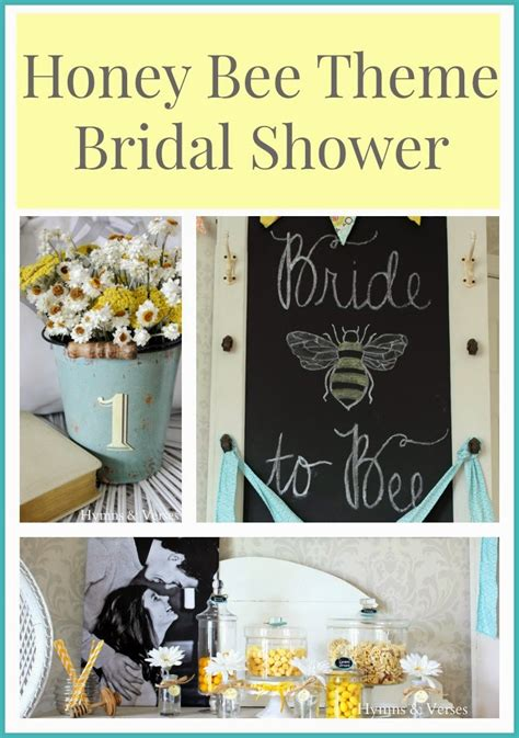 Honey Bee Themed Bridal Shower - Part 3 - Hymns and Verses