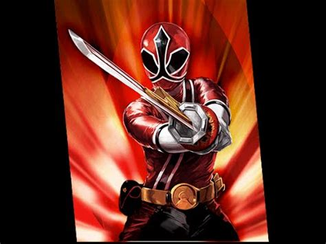 """""""How to"""" Speed Drawing: Red Samurai Ranger - YouTube"""
