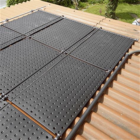 Poolheizung mit Solar Absorber