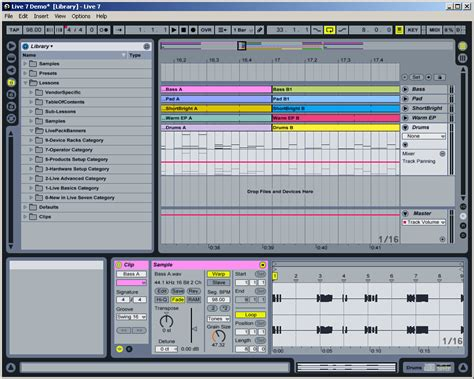 Review of Ableton Live 7, the music production software