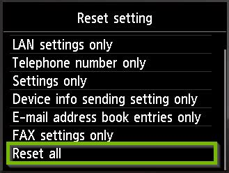 How to Factory Reset a Canon Printer - Support