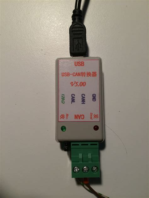 USB-CAN USB to CAN Bus Converter Adapter + USB Cable ;CAN
