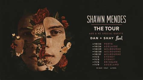 Dan+Shay, Ruel Added As Support on Shawn Mendes
