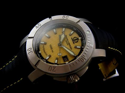 Baume & Mercier Automatic 1000M Diver Watch sold on Chrono24