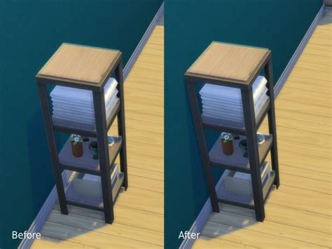 Mod The Sims: Various placement edits that make stuff go